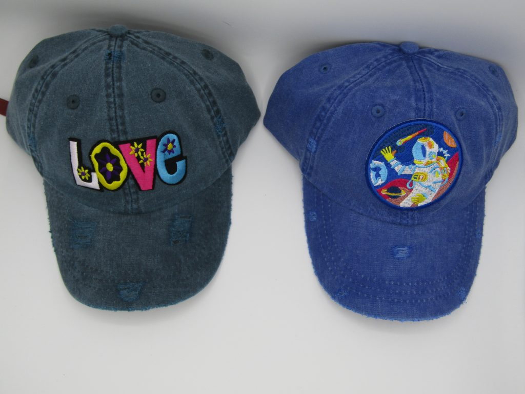 distressed dad hats