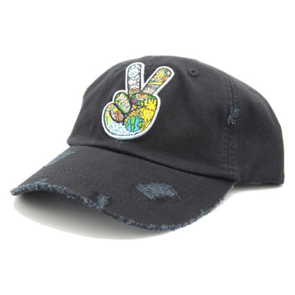 sublime black dad hat