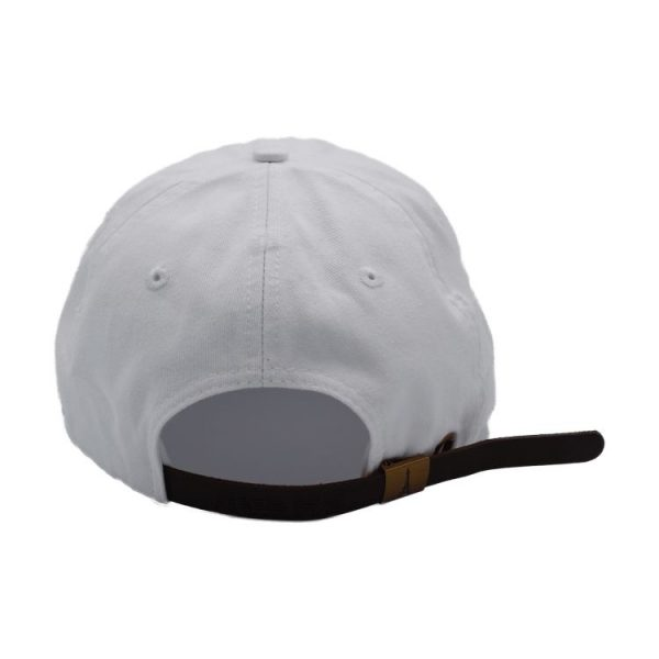Catch the wave white dad hat 3