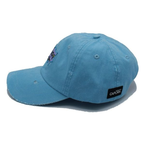 dope baby blue dad hat 3