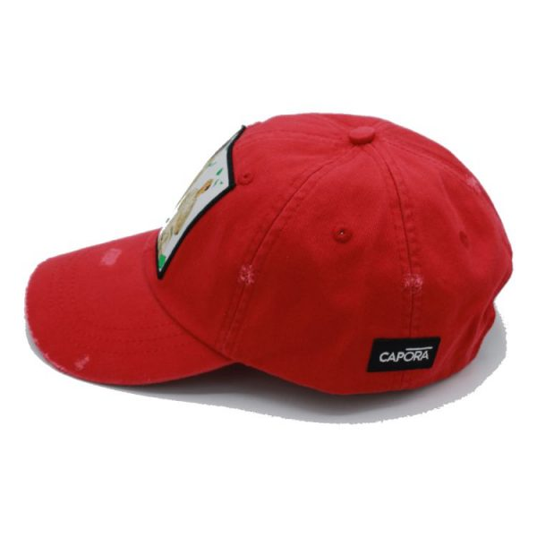 Paid in full red dad hat 5