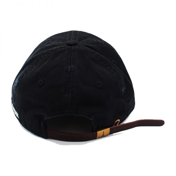 black american flag hat back